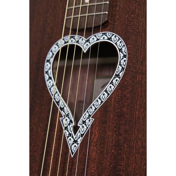 Fender Alkaline Trio Malibu Acoustic Guitar