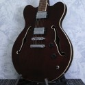 Hofner Verythin Special Run Brown Electric Guitar