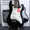 Short Scale Electric Guitar Pack in Black Squier Frontman 10G