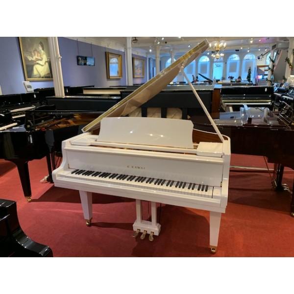 Kawai GL10 Grand Piano in White Polyester