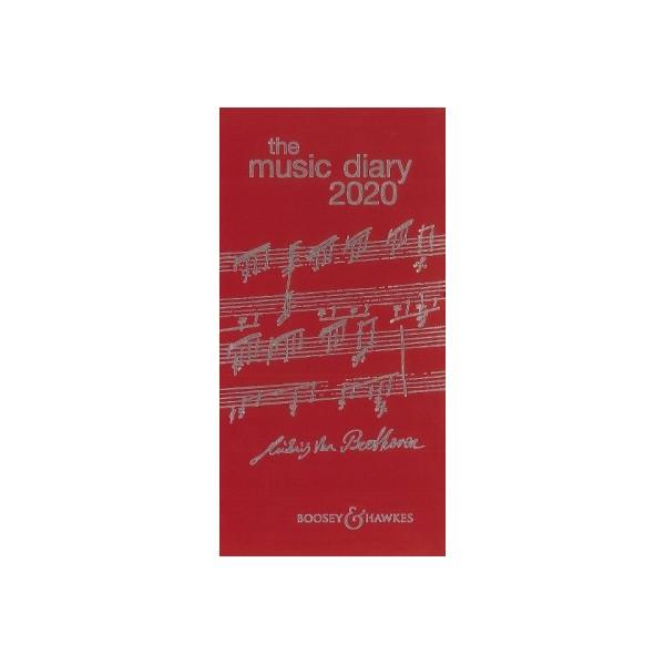 Music Diary 2020 (black)