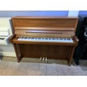Schimmel C120T Upright Piano in Light Walnut Satin