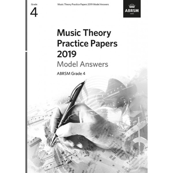 ABRSM Music Theory Practice Papers 2019 Answers, Grade 4 (Four)
