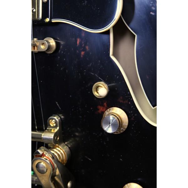 Eastman T59/V LTD Bkack/Gold Bigsby Antique Series Thinline Semi-Acoustic