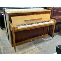 Danemann Upright Piano in Beech and Rosewood