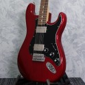Fender Limited Edition Mahogany Blacktop Crimson