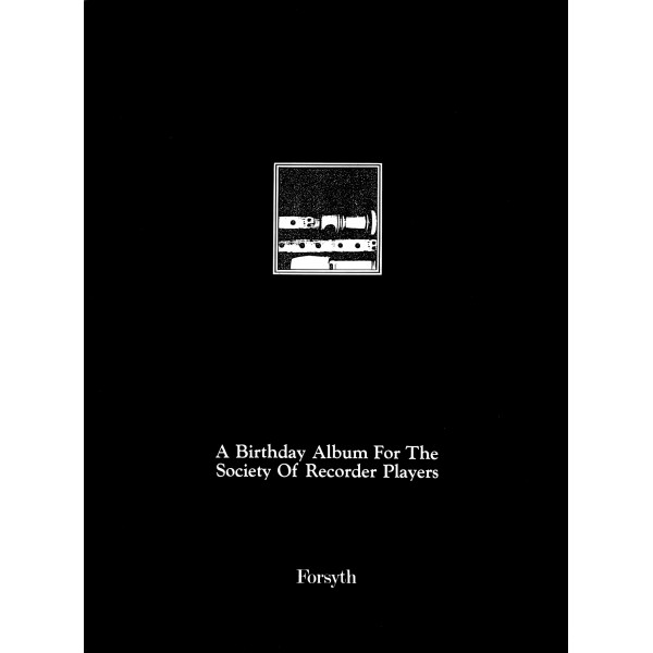 Society of Recorder Players Birthday Album - Various