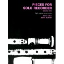Vol.1 Pieces for Solo Recorder - Various