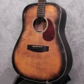 Aria 111 Delta Player Dreadnaught Limited Edition Saddle Brown Acoustic Guitar