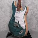 Aria 714 Mk2 Fullerton Turquoise Electric Guitar