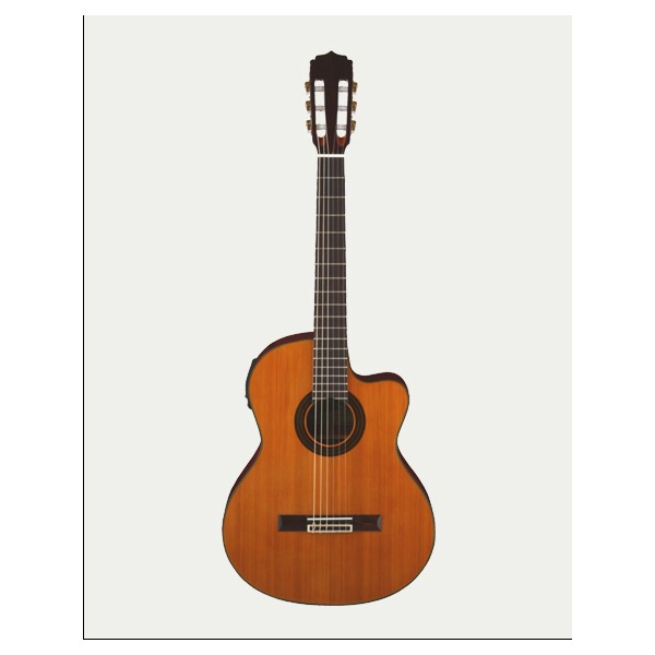 Aria AK35C Classical Guitar with Cutaway