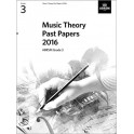 ABRSM Music Theory Past Papers 2016 - Grade 3 (Three)