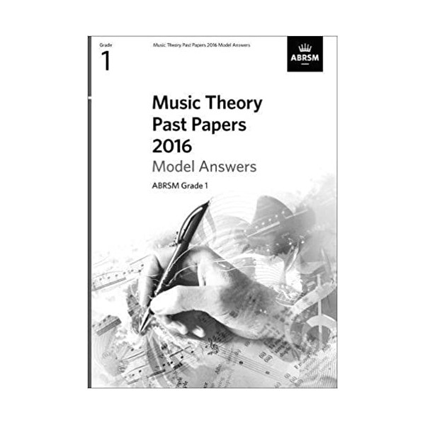 ABRSM Music Theory Past Papers 2016 Answers - Grade 1 (One)