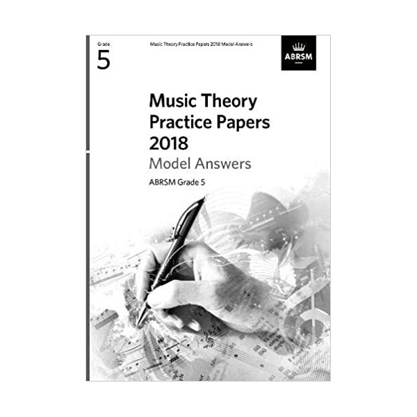 ABRSM Music Theory Past Papers 2016 Answers - Grade 5 (Five)