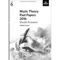ABRSM Music Theory Past Papers 2016 Answers - Grade 6 (Six)