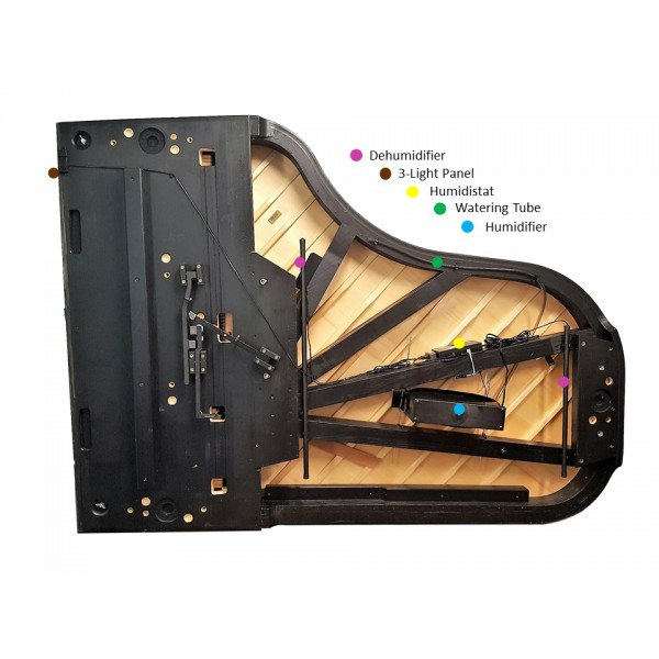 Piano Life Saver Climate Control System by Dampp-Chaser