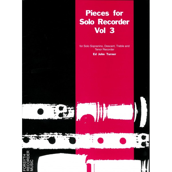 Vol.3 Pieces for Solo Recorder - Various