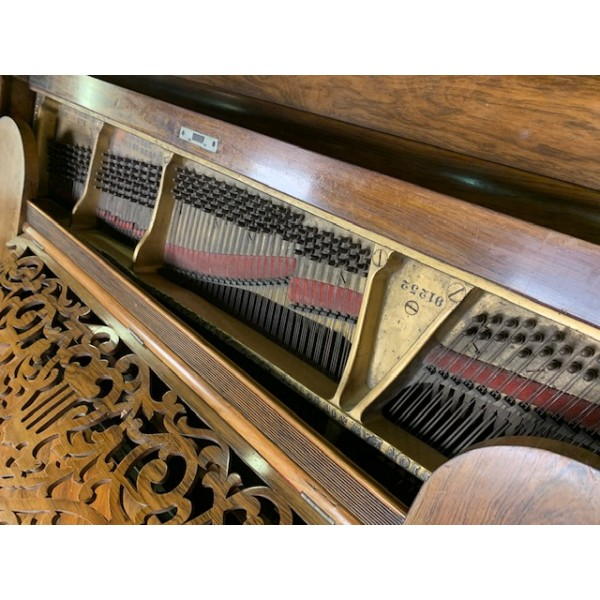 Rebuild in progress - Steinway Model A Grand Piano in Rosewood Polish