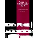 Vol.4 Pieces for Solo Recorder - Various