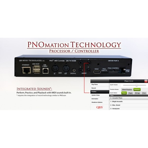 QRS PNOmation III Self Playing System