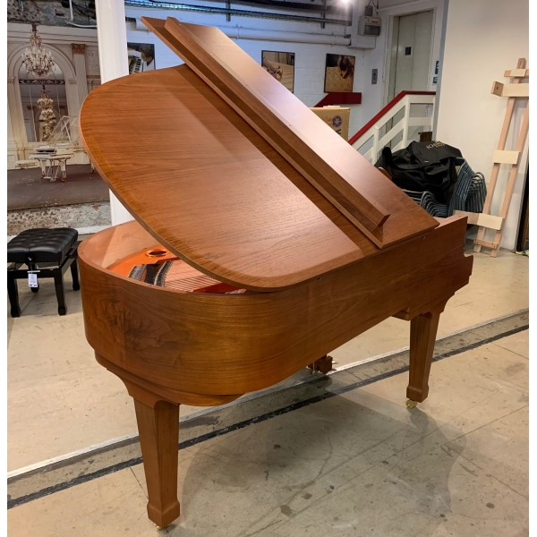 Wilhelm-Schimmel W180T Grand Piano in Light Walnut Satin