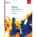 ABRSM Piano Exam Pieces 2021 & 2022, Initial Grade, with CD