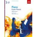 ABRSM Piano Exam Pieces 2021 & 2022, Grade 3 (Three), with CD
