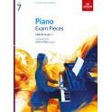 ABRSM Piano Exam Pieces 2021 & 2022, Grade 7 (Seven)