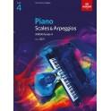 ABRSM Piano Scales & Arpeggios 2021, Grade 4 (Four)