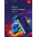 ABRSM Piano Scales & Arpeggios 2021, Grade 6 (Six)