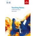 ABRSM Teaching Notes on Piano Exam Pieces 2021-2022, Initial-G8