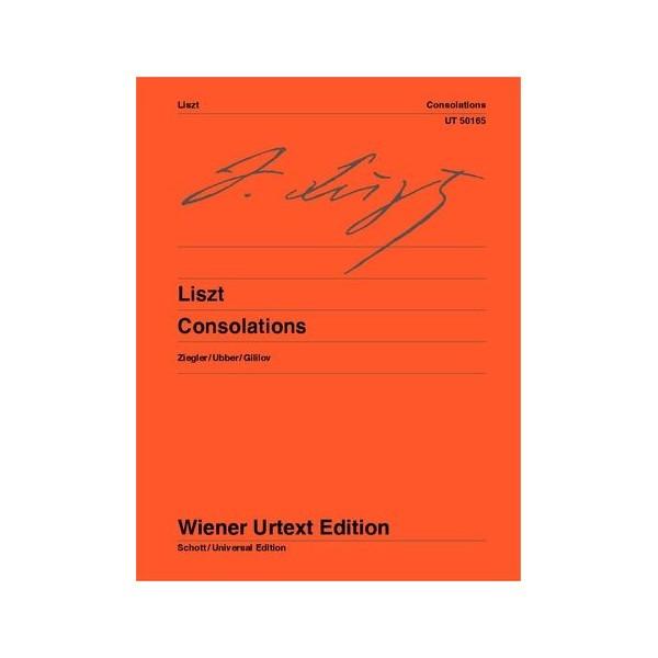 Liszt. Franz - Consolations