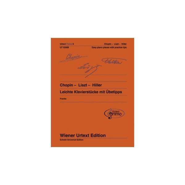 Urtext Primo Volume 5 - Chopin, Liszt and Hiller