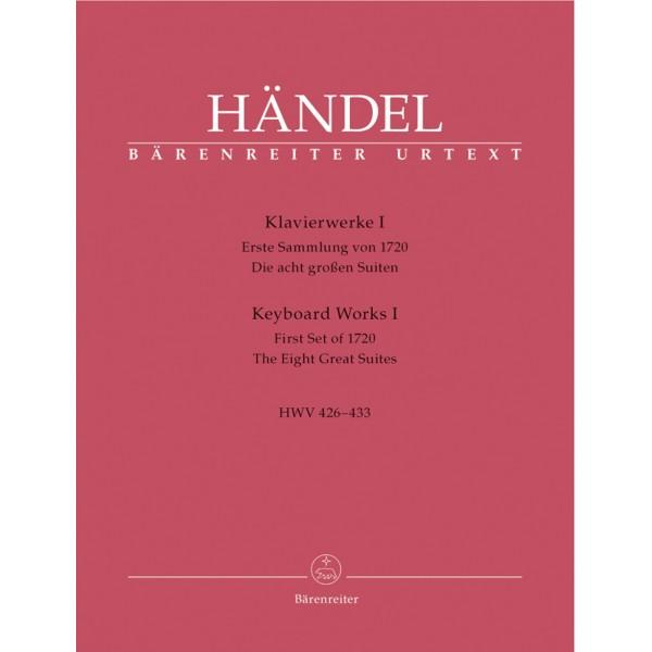 Handel, Georg Frederic Keyboard Works, Volume 1