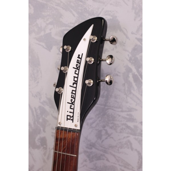 Rickenbacker 350V63JG 'Liverpool' Jetglo Electric Guitar