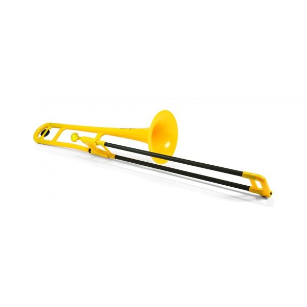 pBone Plastic Trombone Yellow