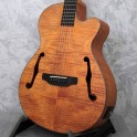 Aria FET-F2 Stained Brown electro acoustic guitar