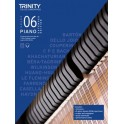 Trinity Piano Exam Pieces Plus Exercises 2021-2023, Grade 6 (Six), Extended Edition