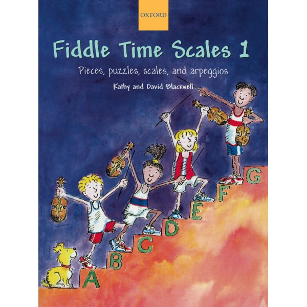 Fiddle Time Scales 1 - Blackwell, Kathy  Blackwell, David
