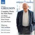 Gregson, Edward - Complete Piano Works (CD)