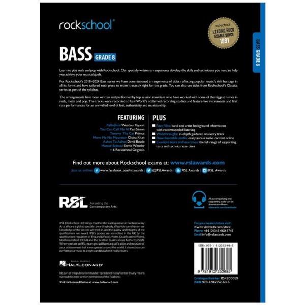 Rockschool Bass Grade 8 (2018)