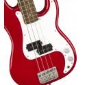 Squier Mini P Bass Dakota Red