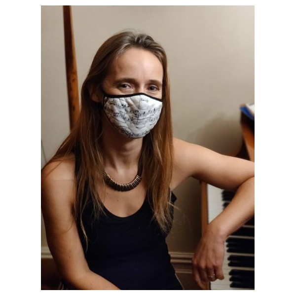 Face Mask Extra Large - various musical designs