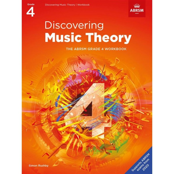 ABRSM Discovering Music Theory Workbook - Grade 4 (Four)