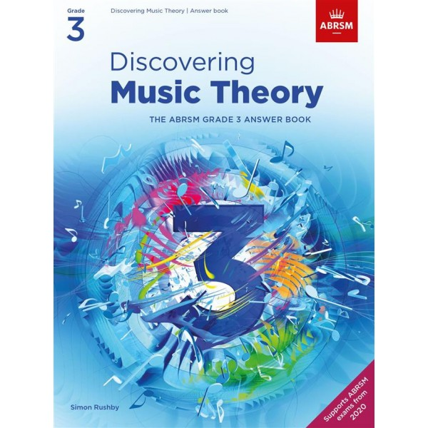 ABRSM Discovering Music Theory Answer Book- Grade 3 (Three)