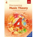 ABRSM Discovering Music Theory Answer Book- Grade 4 (Four)