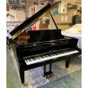 Sold - Schimmel 182 grand piano in black polyester (pre-owned)