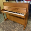 Chappell upright piano in Oak Satin (Pre-owned)