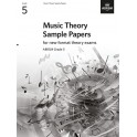 ABRSM Music Theory Sample Papers, Grade 5 (Five)