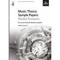 ABRSM Music Theory Sample Papers Model Answers, Grade 4 (Four)